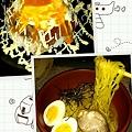 Photos: 牛ステーキ丼&ピリ辛冷しラーメンww食べ過ぎたぁ(゜▽゜;)っていつも通...
