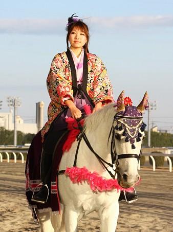 川崎競馬の誘導馬01月開催 和服2Ver-120102-05