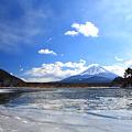 精進湖 冬景