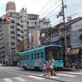 写真: 住吉鳥居前駅