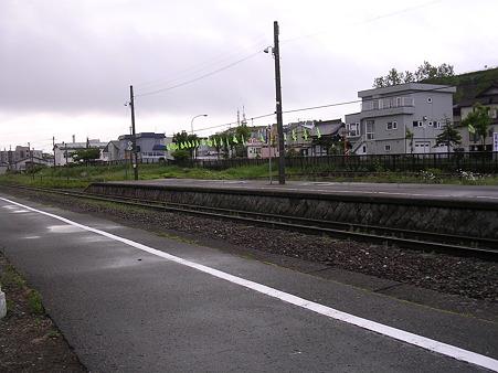南稚内駅ホーム4