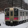 奥羽本線 2446M 2012-02-25 7