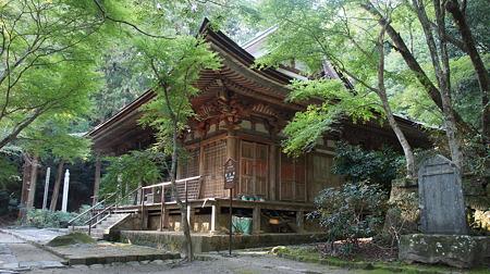 国宝室生寺本堂(灌頂堂)(DSC08674)