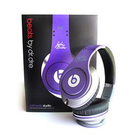 Monster Beats Justin Bieber Headphones Purple 2
