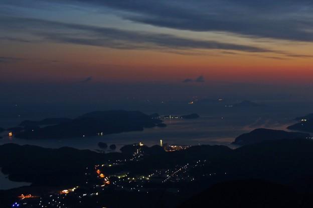 Photos: 未明の鳥羽湾