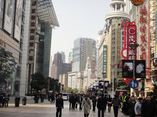 朝の南京東路4(上海)