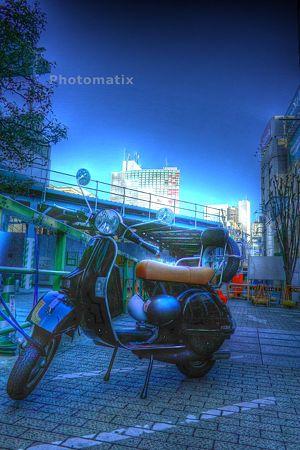 bikeのある風景HDR