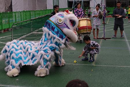 さっきの獅子舞デモンストレーション