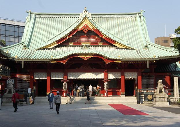 神田神社拝殿