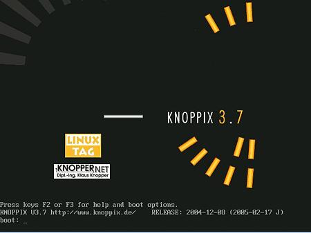 SUSE Linux - knoppix1