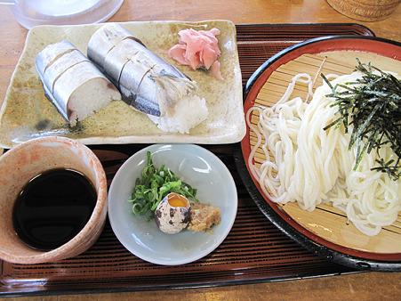 IMG_4328さんま寿司とざる細うどん