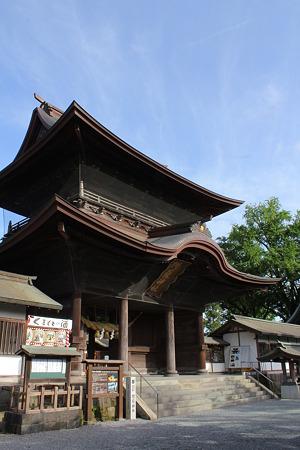 阿蘇神社・楼門1