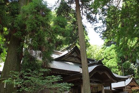 高千穂神社・拝殿3