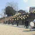 写真: 【春のセンバツ宮崎西高】現役&OB合同練習11