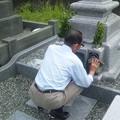 久しぶりの墓参り2