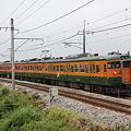 上越線 渋川-敷島 115系普通列車水上行