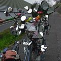 最強40面鏡死角なし全方向観覧可能Super自転車2