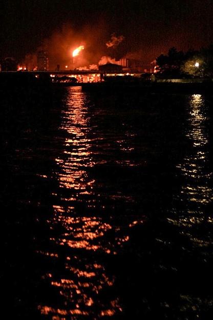 東京湾、工場夜景_6997