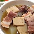 Photos: 高野豆腐を煮た。豚肉、固かった(苦笑)