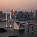 黄昏の東京