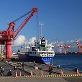 仙台港復旧急ぐ