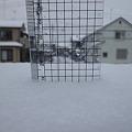 Photos: 積雪量