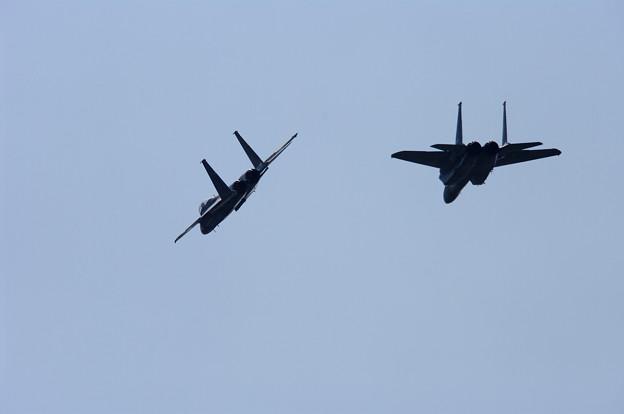 Photos: F-15・フォーメーションアプローチ(3)