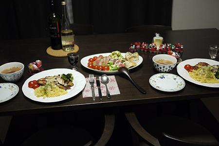 24日のクリスマスディナー