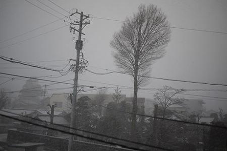 長い時間ではないけど吹雪。