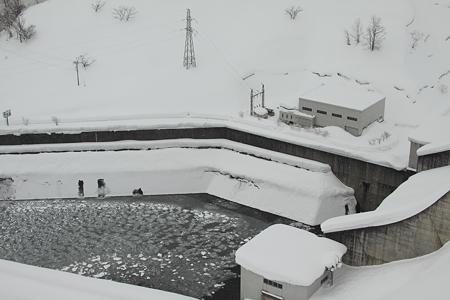 梵字川ダム水力発電所
