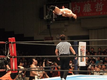 新日本プロレス BEST OF THE SUPER Jr.XIX 準決勝戦 Aブロック1位 PAC vs Bブロック2位 田口隆祐 (2)