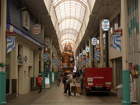 博多祇園山笠 2010 飾り山の大きさがわかる写真