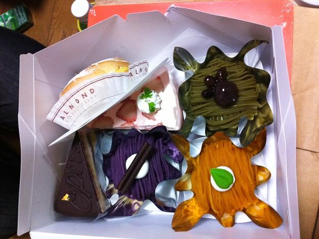 六本木アマンドのケーキ