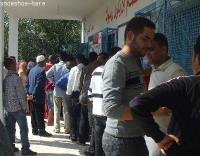 ガルディマウの投票所