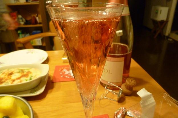 スパークリングワインはロゼ