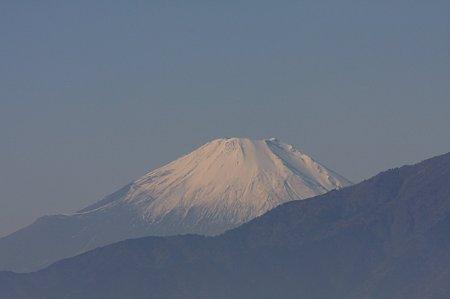 2011.12.18 駅前 富士山