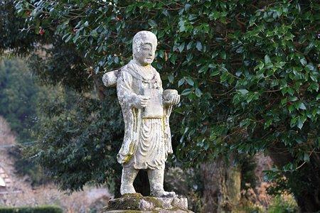 2012.01.28 佐賀 多久聖廟 托鉢姿の地蔵