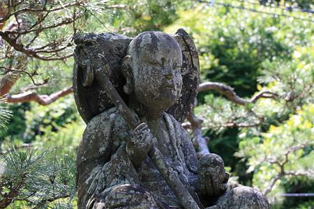 2012.06.14 北鎌倉 長寿寺 地蔵 上半身