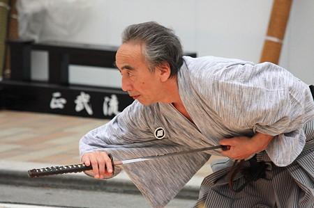 2011.08.07 富士 甲子祭 静岡正武塾 居合抜刀術