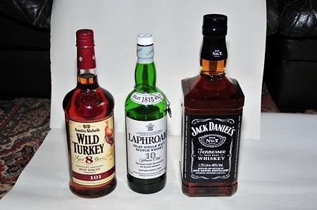 でかいウイスキーが来た!