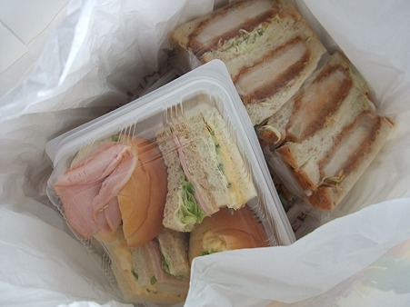 爽ちゃんママからサンドイッチ