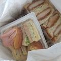 Photos: 爽ちゃんママからサンドイッチ