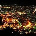 函館からの夜景。