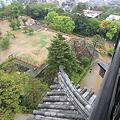 Photos: 110511-103高知城・天守高欄から