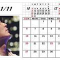 Photos: 11月カレンダー?卓上用