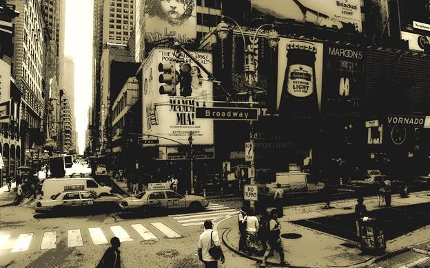 Photos: Monochrome Broadway