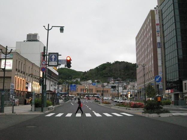 小樽駅方面