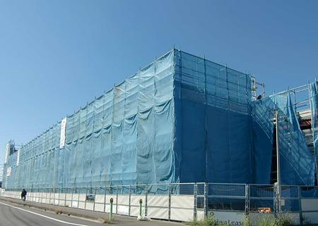カネスエ大口店  2011年秋 オープン予定で建設中-230925-1