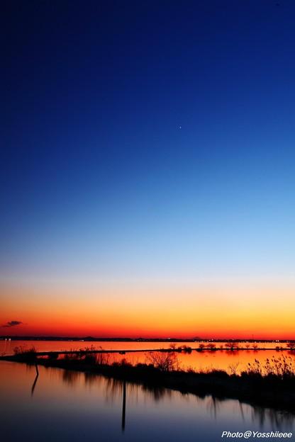 宵の明星 瞬く頃 - 写真共有サイ...