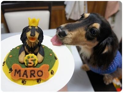 20120310 MARO☆5歳の誕生日ケーキ